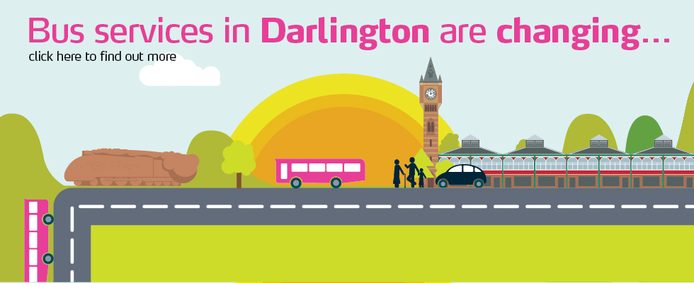 Service Changes Darlington and Durham